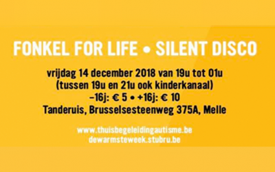 Fonkel for Life - Silent Disco - 14 december 2018 19u-01u